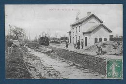 GOUVILLE - La Gare Du Tramway - Autres Communes