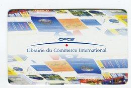 CdV °_ Libraire-75016-CFCE-Commerce International - Cartoncini Da Visita