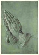 Art - Peinture - Albrecht Durer - Betende Hande - Praying Hands - Etudes De Mains - Voir Scans Recto-Verso - Paintings