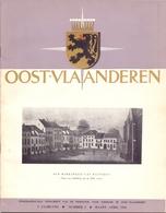 Brochure  Toerisme Tijdschrift - Oost Vlaanderen - Artikels Oa Scaldis, Wetteren, Lokeren, Melsele - 1956 - Toeristische Brochures