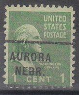 USA Precancel Vorausentwertung Preo, Locals Nebraska, Aurora 712 - Vereinigte Staaten