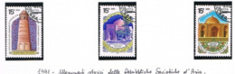 URSS - SG 6231.6233  - 1991 HISTORICAL MONUMENTS (COMPLET SET OF 3)  - USED- RIF.CP - Usati