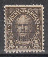 USA Precancel Vorausentwertung Preo, Locals Nebraska, Axtell 653-L-1 TS - Vereinigte Staaten