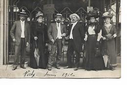 VICHY - Carte Photo - 1912 - Chapeaux - Toilettes Femmes - Vichy