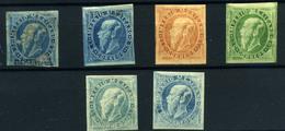 México Nº 29, 30c,31c . Año 1866/7 - Mexico