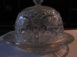 Cloche à Fromage Verre Ouvragé - Glass & Crystal
