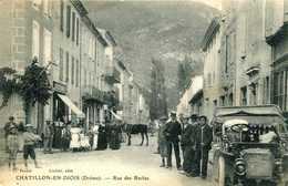 CHATILLON En DIOIS =  Rue Des Reclus  1303 - Châtillon-en-Diois