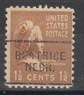 USA Precancel Vorausentwertung Preo, Locals Nebraska, Beatrice 703 - Vereinigte Staaten