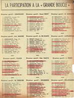 Tour De France 1964 : Liste Des Participants... Et Des Abandons (Extrait Du Journal Belge Le Soir) - Kranten
