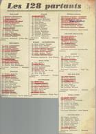Tour De France 1960 : Liste Des Participants... Et Des Abandons (Extrait Du Journal Belge Le Soir) - Kranten