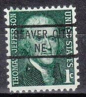 USA Precancel Vorausentwertung Preo, Locals Nebraska, Beaver City 841 - Vereinigte Staaten