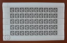 """Feuille Complète De 50 Timbres ARMOIRIES - 1941: 20c+30c """"Nancy"""" N° 526 - Full Sheets"""