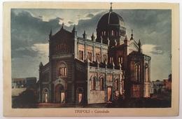 V 57008 Libia Italiana - Tripoli - Cattedrale - Libye