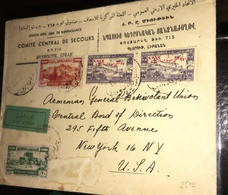 See Photos. Lebanon Used Stamps Cover. 1945. Offers Considered - Líbano
