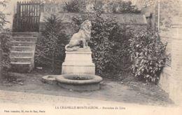 La Chapelle Montligeon (61) - Fontaine Du Lion - Frankreich