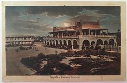 V 57010 Libia Italiana - Tripoli - Stazione Centrale - Libye