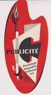 MP1 - MARQUE PAGES  PYC PUBLICITE PARIS - Marque-Pages