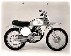 "Italjet  +-23cm X 17cm "" Perforada "" Moto MOTOCROSS MOTORCYCLE Douglas J Jackson Archive Of Motorcycles - Andere"
