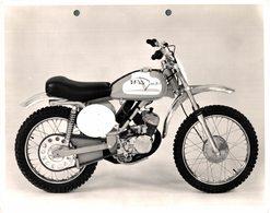 "Italjet C2 100cc +-23cm X 17cm "" Perforada "" Moto MOTOCROSS MOTORCYCLE Douglas J Jackson Archive Of Motorcycles - Andere"