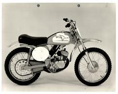 "Italjet Model +-23cm X 17cm "" Perforada "" Moto MOTOCROSS MOTORCYCLE Douglas J Jackson Archive Of Motorcycles - Andere"