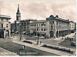 B3484 - San Donà Di Piave, Piazza Indipendenza, Viaggiata 1951 - Italia