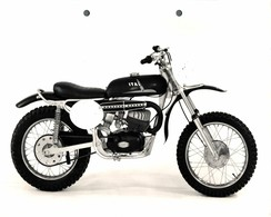"Italjet Zorro 175cc +-23cm X 17cm "" Perforada "" Moto MOTOCROSS MOTORCYCLE Douglas J Jackson Archive Of Motorcycles - Andere"