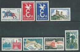 Timbre France Neuf * Yvt N° 1172-1179 - France