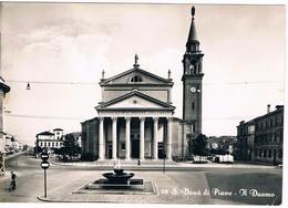 B3485 - San Donà Di Piave, Il Duomo, Viaggiata 1960 - Italia