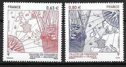 France 2013 N° 4817/4818 Neufs Traité  D'amitié France Danemark, à La Faciale - Francia