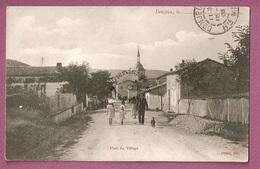 Cpa Donjeux Haut Du Village -  éditeur Olivier - Autres Communes