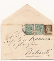 1929 MISTA LEONI 0,05 X 2 + IMPERIALE 0,10 - 1900-44 Victor Emmanuel III