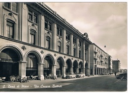 B3488 - San Donà Di Piave, Via Cesare Battisti, Viaggiata 1959, Macchie Nel Retro - Italia