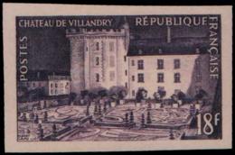 FRANCE   ** 995 Essai En Violet: Chateau De Villandry - Proofs