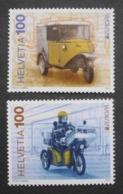Schweiz    Europa  Cept   Postfahrzeuge     2013 ** - 2013