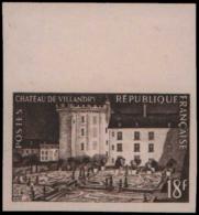FRANCE   ** 995 Essai En Brun, Bdf: Chateau De Villandry - Proofs