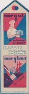 MP1 - MARQUE PAGES RESTAURANT LA CORRIDA PARIS - MAR Y SOL BIARRITZ - Marque-Pages