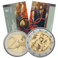 "San Marino (Saint Marin) 2018 : 2 Euro Commémorative ""Tintoretto"" (en Coffret BU) - DISPONIBLE EN FRANCE - San Marino"