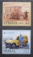 Serbien    Europa  Cept   Postfahrzeuge     2013 ** - 2013