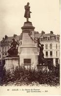 03110 - CPA  LILLE. La Statue De Pasteur. (par Cordonnier) - Lille