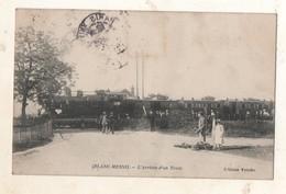 Blanc Mesnil  L Arrivée D Un Train - Le Blanc-Mesnil