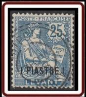 Levant Bureaux Français 1902-1922 - Tripoli / Syrie Sur N° 17 (YT) N° 17 (AM). Oblitération De 1908. - Used Stamps