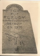 Orig Photo All WW2 : Fleury DOUAUMONT . ( 55 ) MEUSE . - 1939-45
