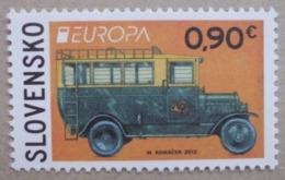 Slowakei    Europa  Cept   Postfahrzeuge     2013 ** - 2013