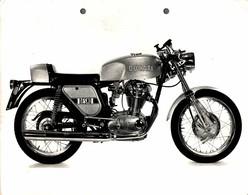 "Ducati Desmo +-23cm X 17cm "" Perforada "" Moto MOTOCROSS MOTORCYCLE Douglas J Jackson Archive Of Motorcycles - Andere"