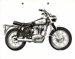 "Ducati Meccanica +-23cm X 17cm "" Perforada "" Moto MOTOCROSS MOTORCYCLE Douglas J Jackson Archive Of Motorcycles - Andere"