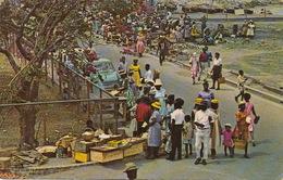 St John's Antigua Market Square  P. Used From Nassau Bahamas - Antigua & Barbuda