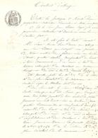 Vieux Papier Du Béarn, Aast, 1903, Pierre Naude échange Une Pâture Avec Lassus-Bayet Fils - Historische Documenten
