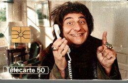 TELECARTE 50 UNITES TELEPHONE ET CINEMA CHRISTIAN CLAVIER - Frankreich