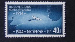Norway - 1944 - Mi:NO 298, Sn:NO 267, Yt:NO 260, Sg:NO 363, AFA:NO 304**MNH - Look Scan - Norwegen