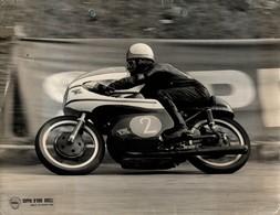 "Agostini Giacomo +-23cm X 17cm "" Perforada "" Moto MOTOCROSS MOTORCYCLE Douglas J Jackson Archive Of Motorcycles - Andere"